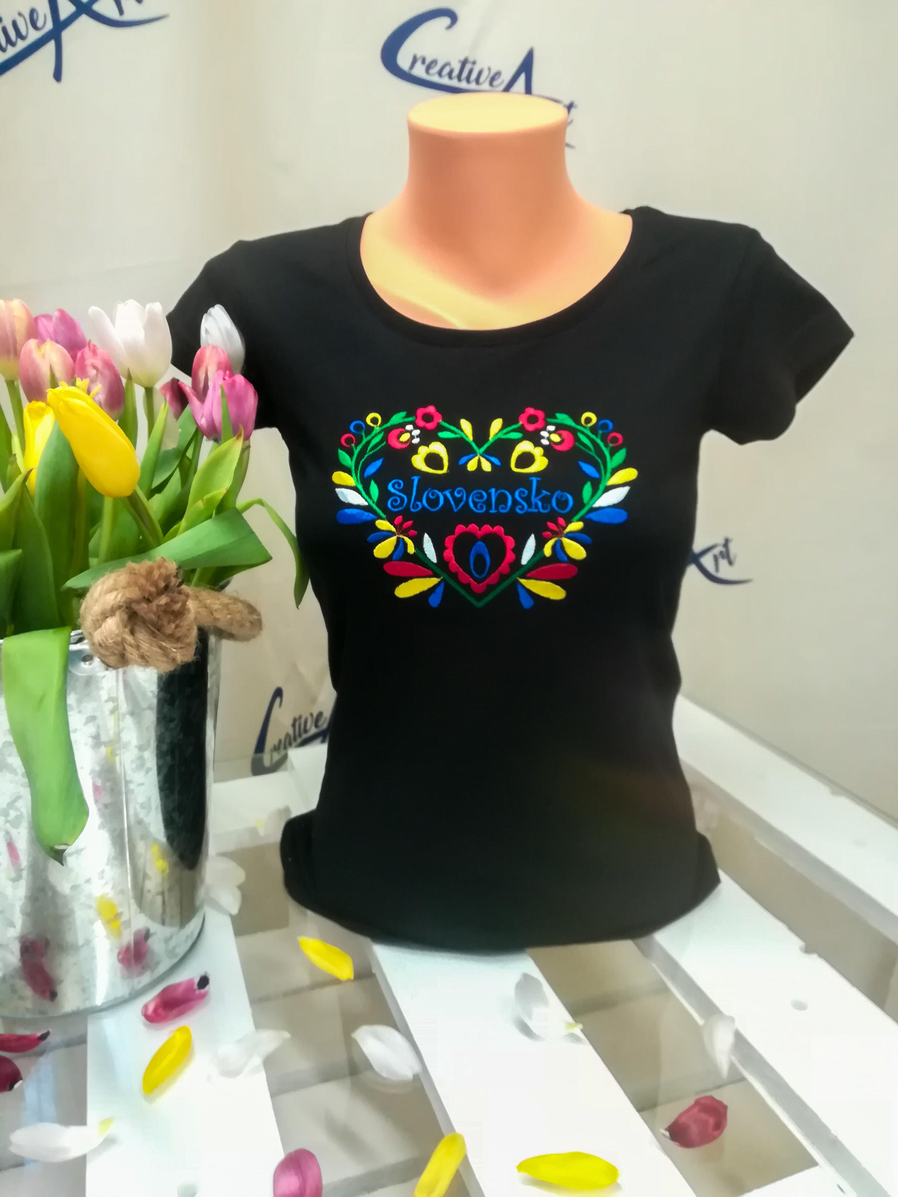 be0219c297 IKA SLOVENSKO – výber farieb trička – Creative Art